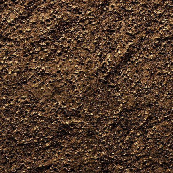 Песчаный грунт перед посадкой.
